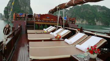 Phòng Deluxe Balcony Cabin
