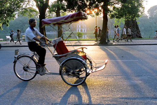 Cyclo a better way to get around