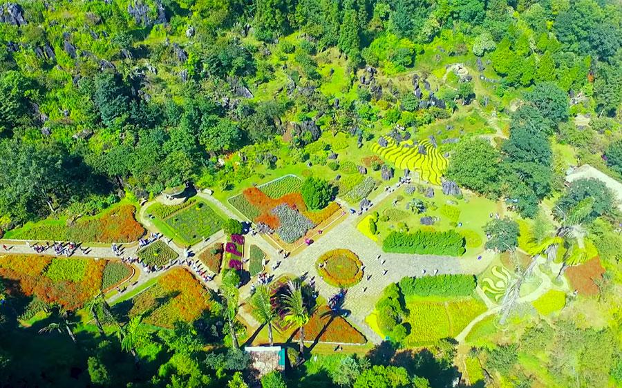 Núi Hàm Rồng lựa chọn hấp dẫn khi đi du lịch sapa